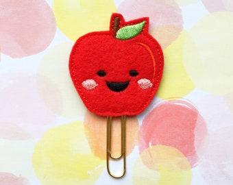 Planner Clip, Happy Apple