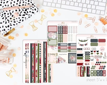 Love Today HORIZONTAL Weekly Kit // 130+ Matte Planner Stickers // Perfect for your Erin Condren Life Planner // WKH0800