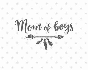 Mom of boys svg file Best Mom svg Mom of boys svg Mother's Day svg Best Mom svg Gift For Mothers Day svg Worlds Best Mom svg Mom of boys svg