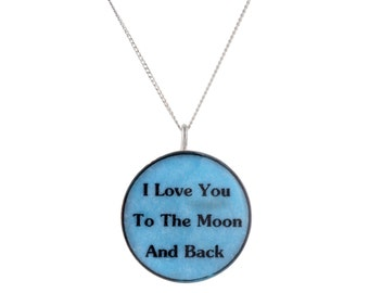 Handmade Customizable Sterling Silver Pendant, Round High Quality Personalized, Inscribe with Personal Message