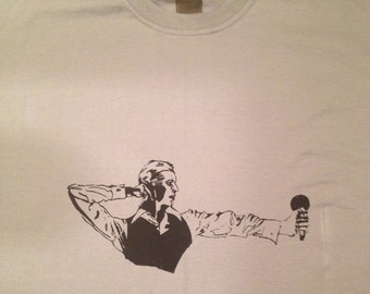 David Bowie - Thin White Duke t shirt vêtements Defstar.