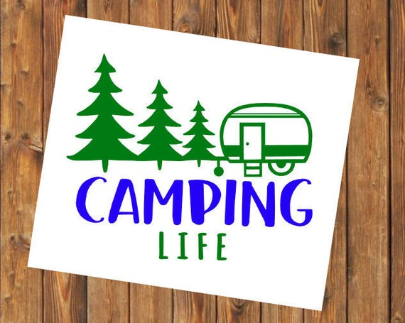 Free Shipping-Camping Life Camper, Summer Vacation Vacay, Adventure Life Travel Explore Arrows Cooler, Yeti, Laptop, Back to School Sticker