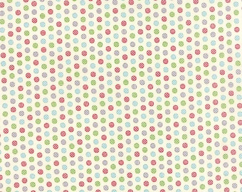 Multi-Colored Dots Print from the Cookie Exchange Collection, by Moda