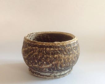 Obvara Fired Bowl By Terrence J Bunce MA