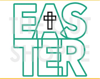 The Celebrate Easter cut file is a title design that can be used for your scrapbooking and papercrafting projects.