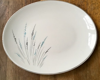 """Knowles Fantasy 12"""" Oval Serving Platter"""