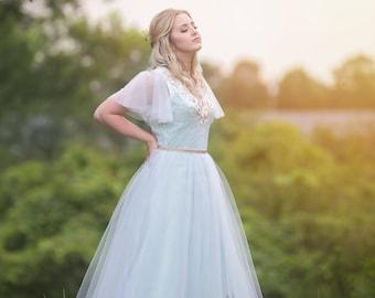 Tulle Wedding Dress- Amelia Jane by Lula Blue