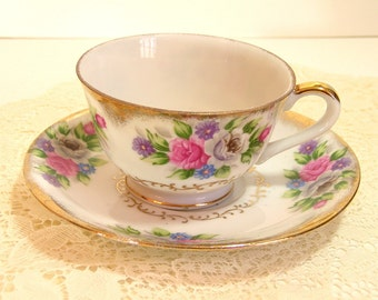 Bouquet By Shafford Vintage Teacup