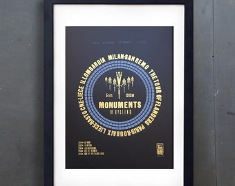 Monuments of Cycling-Limited 1st print run