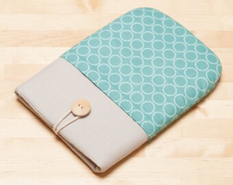 Kindle Paperwhite case / kindle case / kindle fire HD 6 case / kindle voyage case / / kobo aura case / kobo glo case - circles in grey -