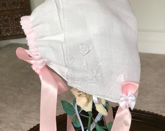 Handmade Baby Bonnet