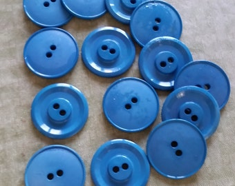 LARGE TURQUOISE BUTTONS