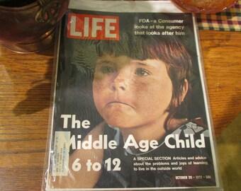 LIFE Magazine October 20th 1972 Edition
