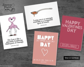 On The Wonk Valentines Day Cards