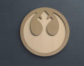 Frame Kit, Rebel Alliance, Wood Frame, Picture Frame, DIY
