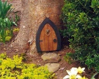 Gnome doors, Fairy Doors, Faerie Doors, Elf Doors, 12 inch, lion knocker.