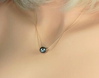 Real Tahitian Pearl, Tahitian Pearl, Pearl Choker, Pearl Necklace, Tahitian Pearl Necklace, Black Tahitian Pearl, Tahitian pearl jewelry.