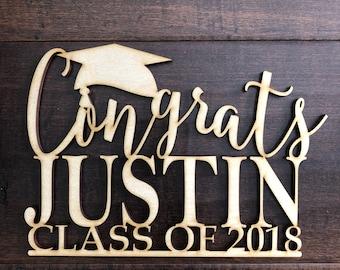 Graduation party decorations, Graduation, class of, Graduation gift, graduation party decor, graduation sign
