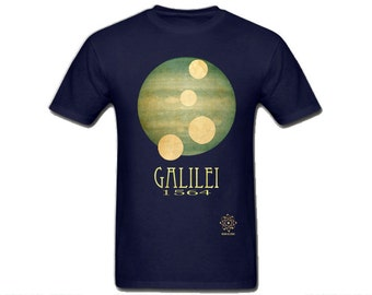 Galileo Astronomy Shirt, Math Shirt, Space T-shirt, Astronomy Student, Science Shirt, Astronomy Teacher Gift, Science Gift for Geek Shirt