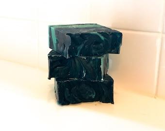 Black Cashmere| Men's Soap| Vegan Soap| Palm-Free| Shea Butter Soap