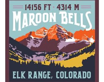 Maroon Bells Print