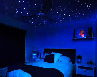 Star Ceiling 400 Extra Bright Glow In Dark Realistic Star Stickers,  Celestial Skies, Long