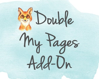 Double your Pages in one Notebook