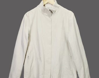 Vintage 'S Max Mara Light Jacket Women size 38/Medium Beige/Khaki Made in Italy