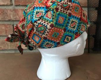 Tribal Scrub Hat