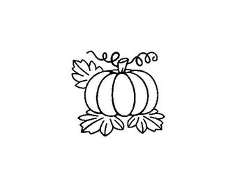 """Small Pumpkin Stamp, card stamp, gift tags stamp, label stamp, stationary stamp, halloween stamp, festive stamp, 0.75"""" x 0.7"""" (minis80)"""