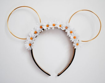 Daisy Floral Wire Mouse Ears