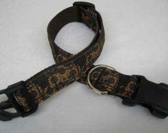 Steampunk Gears Dog Collar - MULTIPLE SIZES AVAILABLE