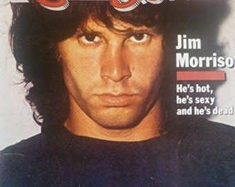 The Doors' Jim Morrison, September 1981 Rolling Stone Cover - Laminated Mini Poster