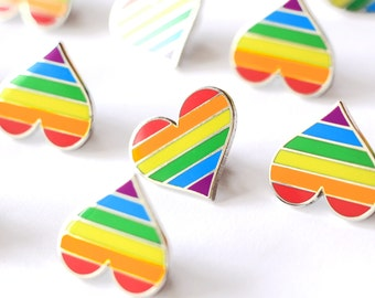 Pride pin, Gay lapel pin, Lgbt enamel pin, Pride parade accessory, Lgbtq decoration, Gay flag, LGBT community, LGBT flag pin, Gay support