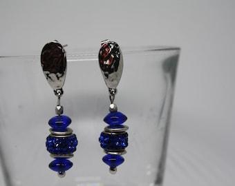 Blue Bright Earrings
