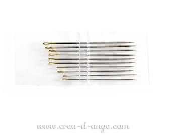 1 sewing needle handmade 38mm tip
