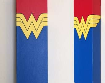 Wonder Woman Canvas Painting