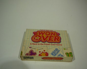 Won Over, Parker Brothers card game, 1983