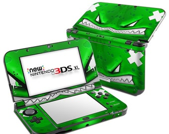 Nintendo 3DS XL Skin - Chunky Face - Sticker Decal Wrap - Fits New and Original