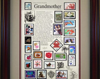 Grandmother 6394 - Personalized Framed Collectible (A Great Gift Idea)