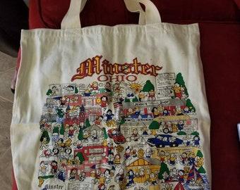 Fun bag,town bag,shopping bag,canvas bag, book bag, laptop bag