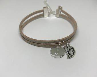 Personalised bracelet | Personalised charm bracelet | Initial bracelet | Personalised gift | Personalised jewellery