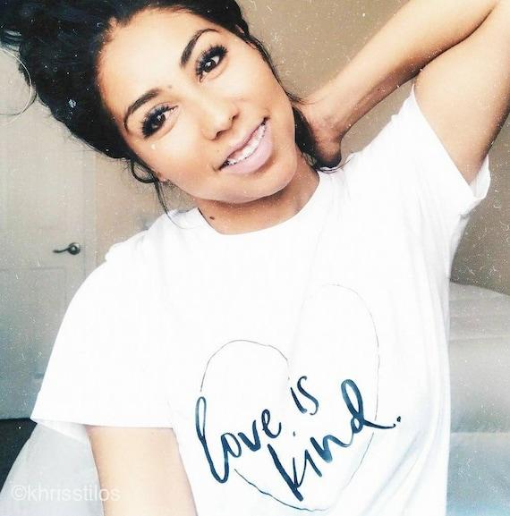 LOVE IS KIND Tee, Love is Kind Shirt, Love Shirt, Love is Kind Tshirt, Kindness Shirts, Kindness Tees, Love Tops, Love is Kind Tshirts