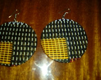 kitenge Earrings