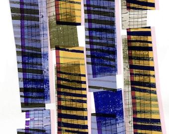 Towerblocks - giclee archival print - Sarah Bagshaw