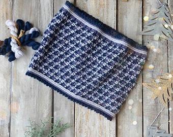 Slip Stitch Cowl Kit 12 Days of Winter