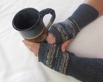 Arm Warmers-Knit Fingerless Glove-Fingerless Gloves Women-Fingerless Wrister-Wrist Warmers-Knit Fingerless-Winter Gloves-Knit Arm Warmers