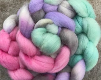 Organic Polwarth Hand Painted Wool
