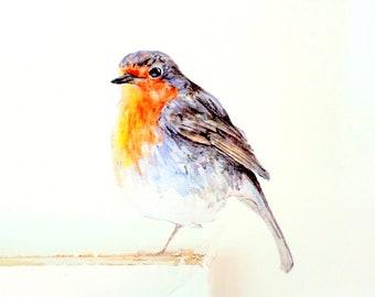 Robin wall sticker, robin wall decal, bird wall decor, light switch bird decal, robin art, bird home decor, robin gift, wall sticker robin