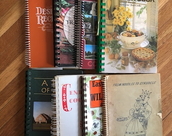 Buyer's Choice. Complete your collection! Cookbooks Vintage Church Benefit Fundraiser Spiral Bound Home Cooking Comfort Food